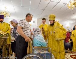 Председатель Синодального отдела по делам молодежи Русской Православной Церкви посетил Солигорск