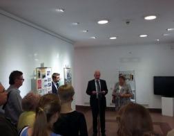 Состоялось открытие выставки, посвященной 500-летию Белорусского книгопечатания и 500-летию Реформации в Европе