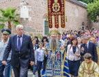 В городах и селах Болгарии верующие молитвенно встречают ковчег с частицами Ризы и Покрова Богоматери, принесенный из Москвы