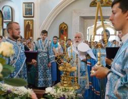 Накануне праздника Казанской иконы Божией Матери митрополит Павел совершил всенощное бдение в Свято-Духовом кафедральном соборе города Минска