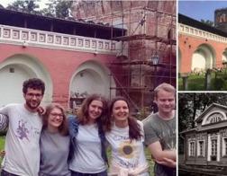 В Донском монастыре и доме Палибина открываются международные волонтерские кампусы