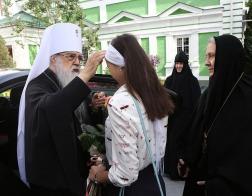В день памяти положения честной ризы Господней митрополит Филарет посетил Гродненский монастырь