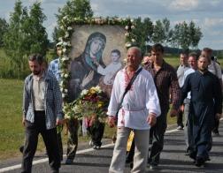 Празднование Барколабовской иконы Божией Матери прошло в Бобруйской епархии
