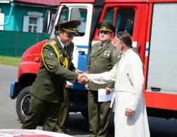 Благочинный Быховского церковного округа поздравил сотрудников МЧС с профессиональным праздником