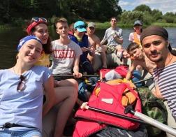 Прошел ежегодный слёт-сплав молодежи Борисовской епархии