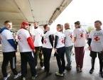 В рамках Московского марафона православная служба помощи «Милосердие» объявила благотворительную акцию в пользу инвалидов и бездомных