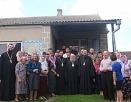 Иерарх Польской Православной Церкви посетил общину храма, захваченного раскольниками в селе Угринов на Волыни