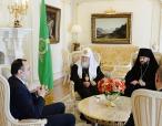 Состоялась встреча Святейшего Патриарха Кирилла с послом Армении в России Варданом Тоганяном
