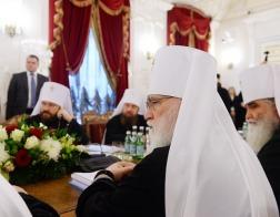 Патриарший Экзарх всея Беларуси принял участие в очередном заседании Священного Синода
