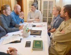 Состоялось собрание председателей епархиальных отделов Борисовской епархии