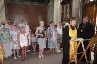 В Петро-Павловском кафедральном соборе Гомеля был совершен молебен для инвалидов по зрению