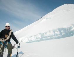 Омский священник покорил самую высокую гору Сибири