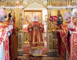 Митрополит Павел возглавил торжества в честь 170-летия храма равноапостольной Марии Магдалины в городе Минске