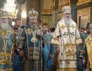 В день празднования Почаевской иконе Божией Матери Блаженнейший митрополит Онуфрий возглавил праздничное богослужение в Почаевской лавре