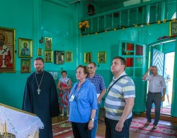 Вознесенский храм в деревне Медвядка посетили потомки Игнатия Домейко