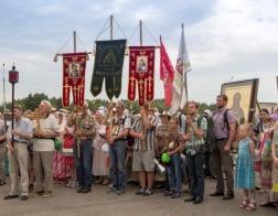 XV Одигитриевский крестный ход из Витебска прибыл на Смоленщину