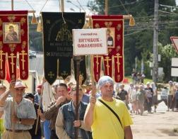 XV Одигитриевский крестный ход из Витебска встретили в Смоленске