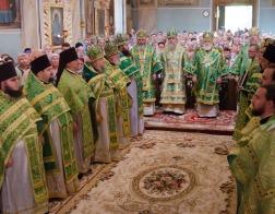Патриарший Экзарх возглавил торжества в честь 10-летия со дня прославления преподобной Манефы Гомельской