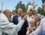 Митрополит Киевский Онуфрий возглавил крестный ход в Иосафатову долину в Винницкой епархии