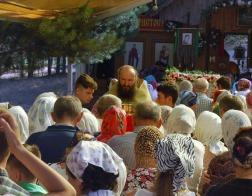 В Новогрудской епархии состоялся трехдневный крестный ход к Лавришевской обители
