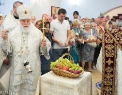 В праздник Преображения Господня митрополит Павел совершил Литургию в Спасо-Преображенском храме города Минска