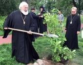 Архиепископ Карельский и всей Финляндии Лев посетил Коневский монастырь