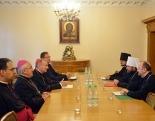 Митрополит Волоколамский Иларион встретился с Государственным секретарем Святого Престола