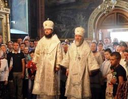 Епископ Туровский и Мозырский Леонид принял участие в торжествах по случаю праздника иконы Божией Матери «Тригорьевская»