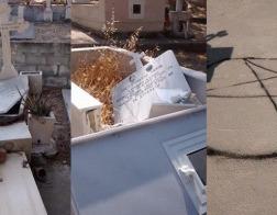 На Кипре осквернено православное кладбище
