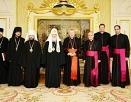 Святейший Патриарх Кирилл встретился с Государственным секретарем Святого Престола кардиналом Пьетро Паролином