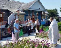В деревне Погост состоялся крестный ход в память о жертвах нацистских оккупантов