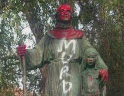 В США истерика вокруг сноса памятников перекинулась на монументы, посвященные религиозным деятелям