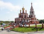 Святейший Патриарх Кирилл посетил Богоявленский храм Кургана
