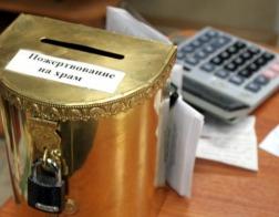 Алтайский подросток украл 8 тысяч рублей из храма