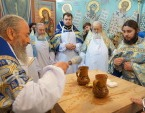 Митрополит Киевский Онуфрий освятил Богоявленский храм и православную школу в Виннице