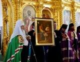 В день памяти прпп. Зосимы, Савватия и Германа Соловецких Предстоятель Русской Церкви совершил Литургию в Соловецком монастыре