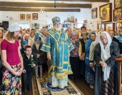 Митрополит Павел совершил Литургию в храме в честь иконы Божией Матери «Всецарица» города Минска