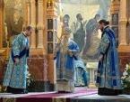 Митрополит Санкт-Петербургский Варсонофий возглавил богослужение по случаю 110-летия освящения храма Спаса на Крови в Санкт-Петербурге