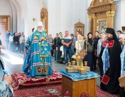 В канун Недели 13-й по Пятидесятнице митрополит Павел совершил всенощное бдение в Спасо-Евфросиниевском монастыре города Полоцка