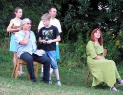 Концерт под открытым небом организовал приход Спасо-Преображенского храма в Острошицком Городке