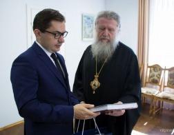 Состоялась встреча Чрезвычайного и Полномочного Посла Республики Польша в Республике Беларусь Конрада Павлика и архиепископа Витебского и Оршанского Димитрия