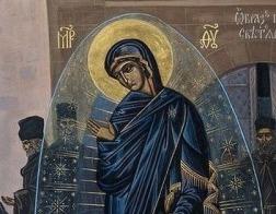 Святогорцы почтили явление Светописанного Образа Богородицы