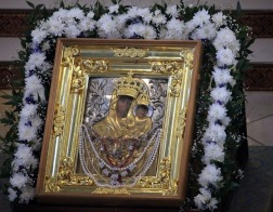 До 12 сентября в Мозыре будет находиться икона Божией Матери «Юровичская-Милосердная»