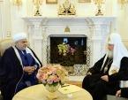 Святейший Патриарх Кирилл встретился с Председателем Управления мусульман Кавказа