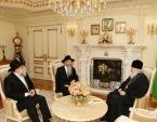 Святейший Патриарх Кирилл встретился с главным раввином России Берлом Лазаром