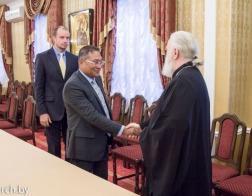 Состоялась встреча Патриаршего Экзарха и Представителя ЮНИСЕФ в Республике Беларусь