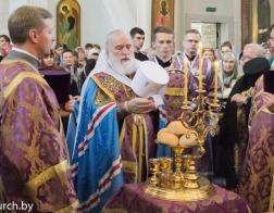 В канун праздника Усекновения главы Иоанна Предтечи Патриарший Экзарх совершил всенощное бдение в Свято-Духовом кафедральном соборе города Минска