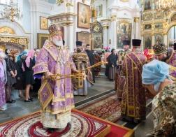 В праздник Усекновения главы Иоанна Предтечи митрополит Павел совершил Литургию в Свято-Духовом кафедральном соборе города Минска