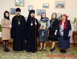 Епископ Борисовский и Марьиногорский Вениамин посетил Зембинскую школу