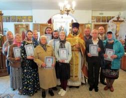 В столичном приходе иконы Божией Матери «Неупиваемая Чаша» состоялся чин принятия обета трезвости